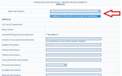 DESPACHANTE DE ADUANA GESTION DE LICENCIAS NO AUTOMATICAS DE IMPORTACION
