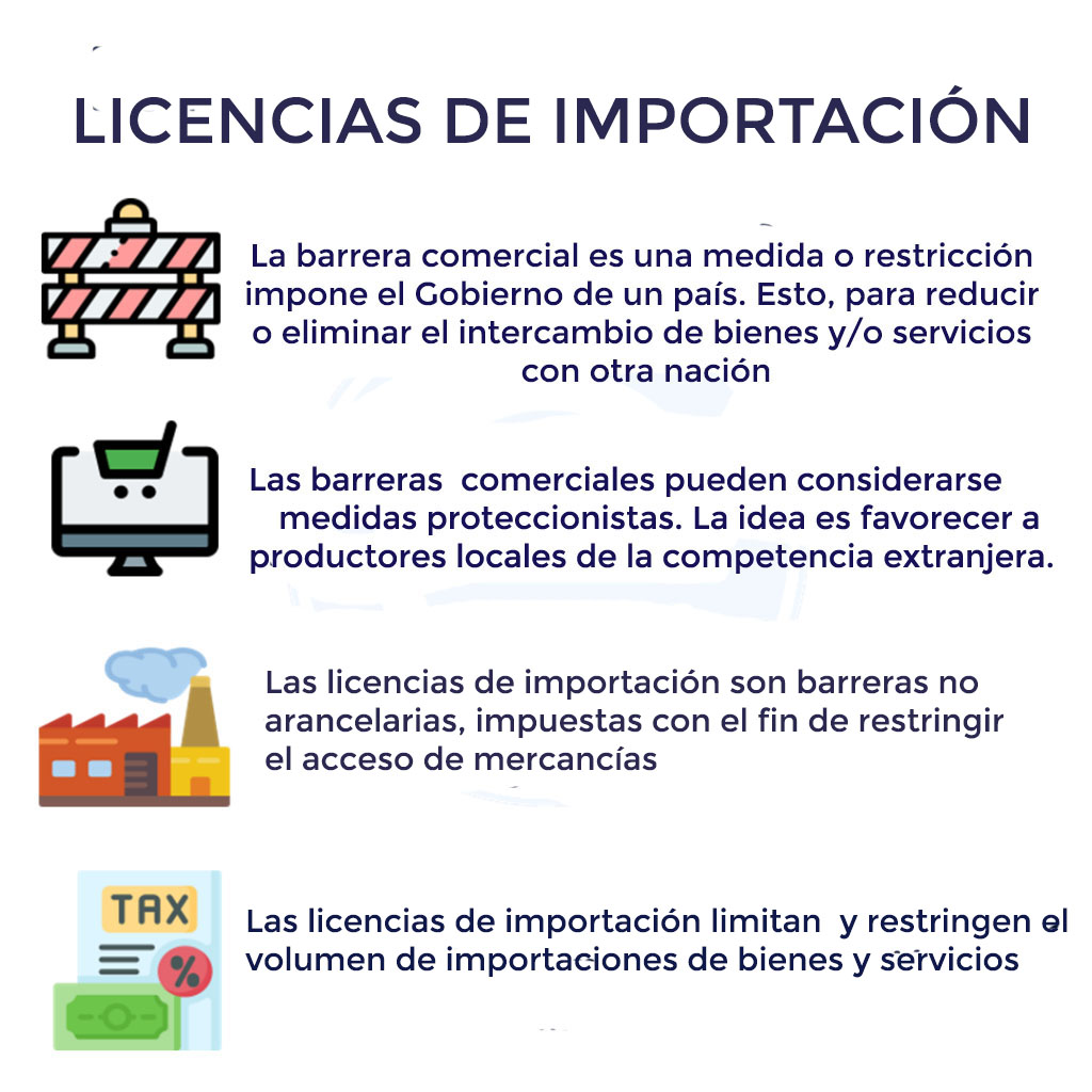 LICENCIAS DE IMPORTACIÓN